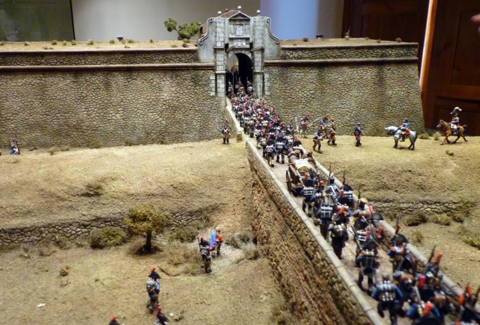 Entrada de las tropas de Menacho en Badajoz